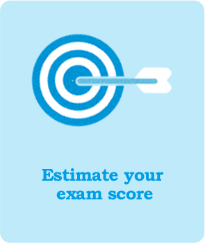 estimate exam score