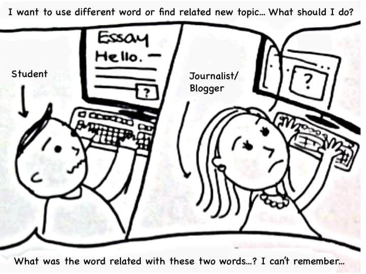 A one-frame comic