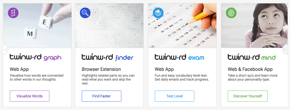 Twinword Products