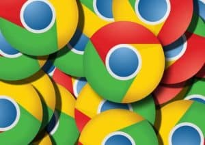 A pile of Chrome browser logos