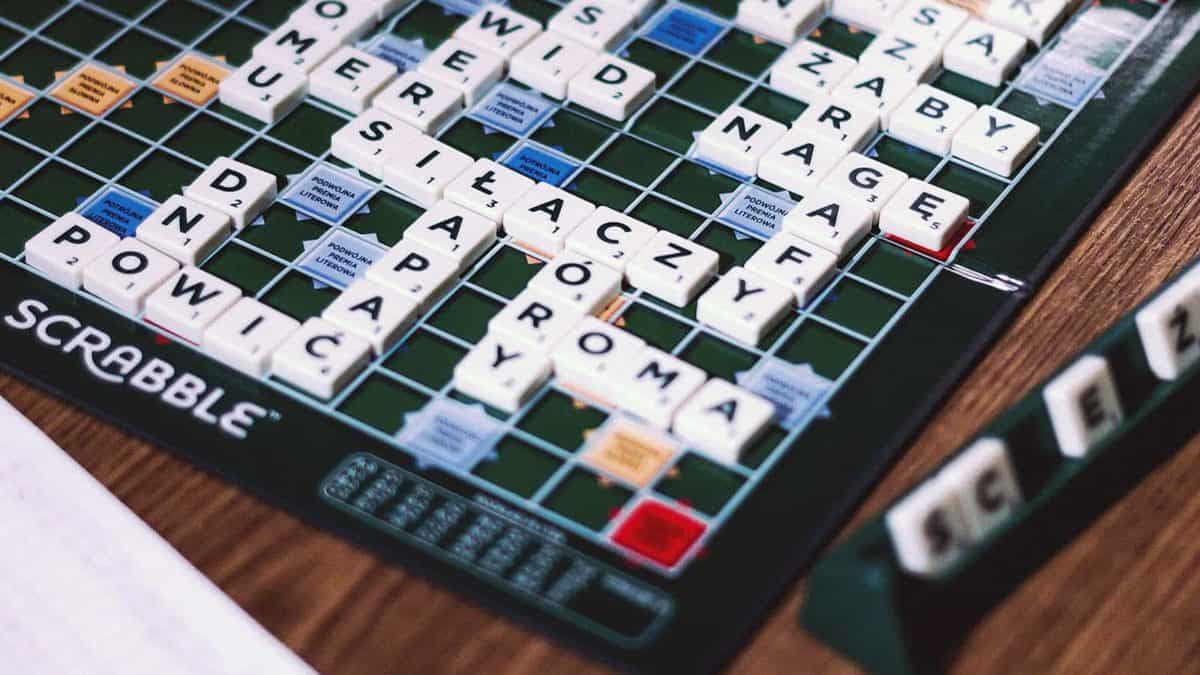 Image of Scrabble board game