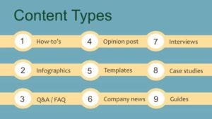 9 Content Types