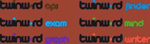 Twinword product logos