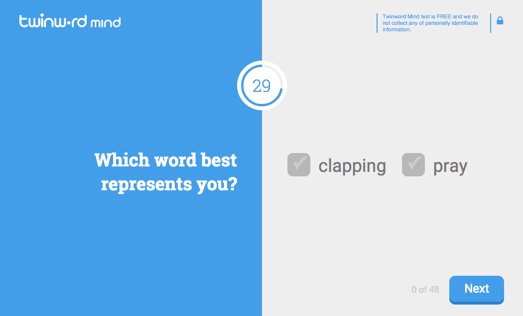 Word Choice Test - Twinword_Mind