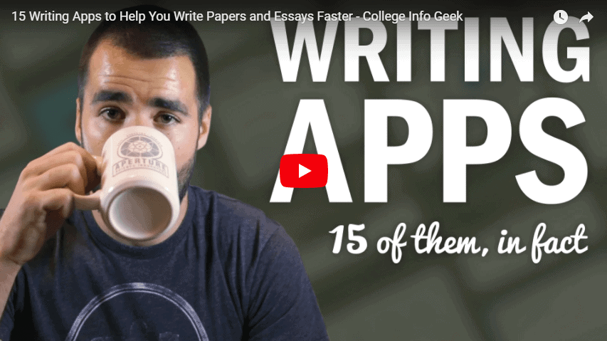 15 Writing apps video including Twinword Writer