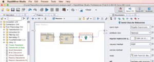 RapidMiner Linking Operators Screenshot for Twinword Sentiment Analysis