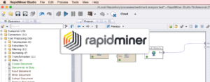 RapidMiner Screenshot for Twinword Sentiment Analysis