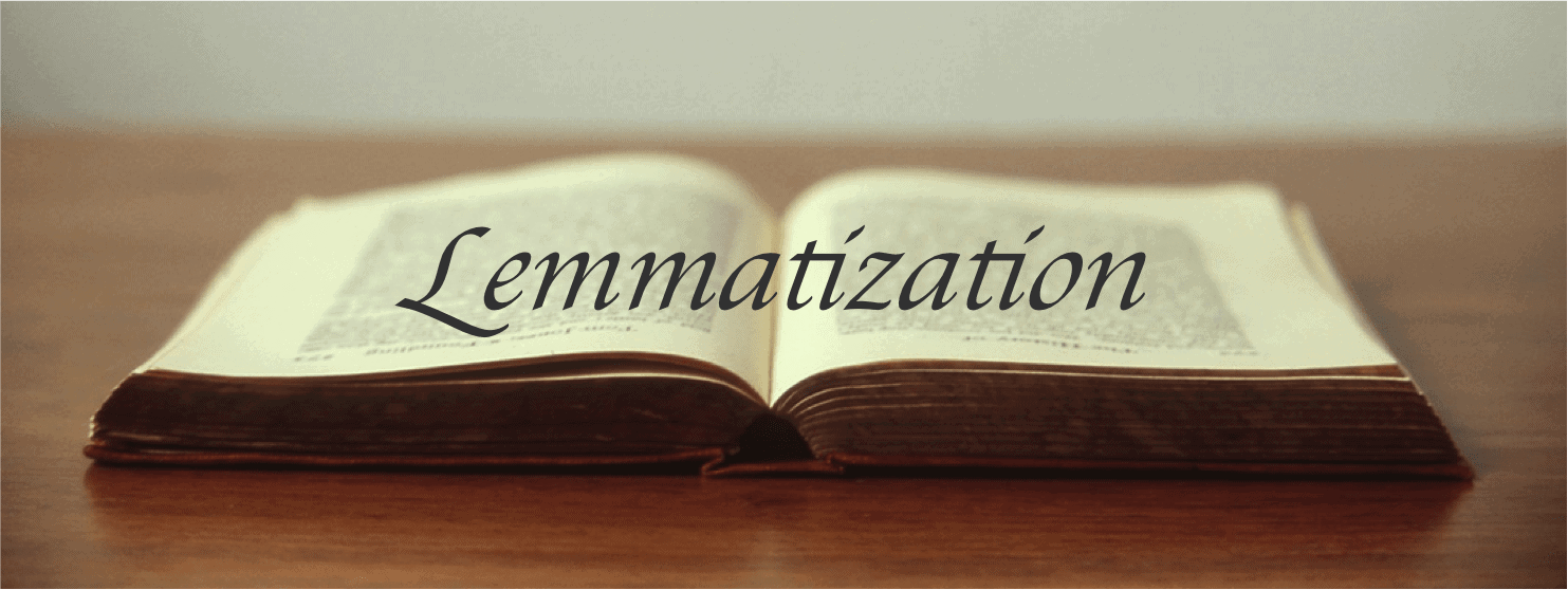 Lemmatization caption