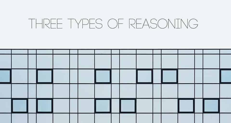 Three Types Of Reasoning caption