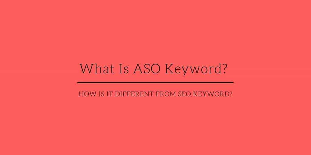 What Is ASO keyword? Caption