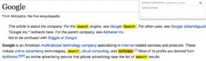 Screenshot of Multi Highlighter Chrome Extension