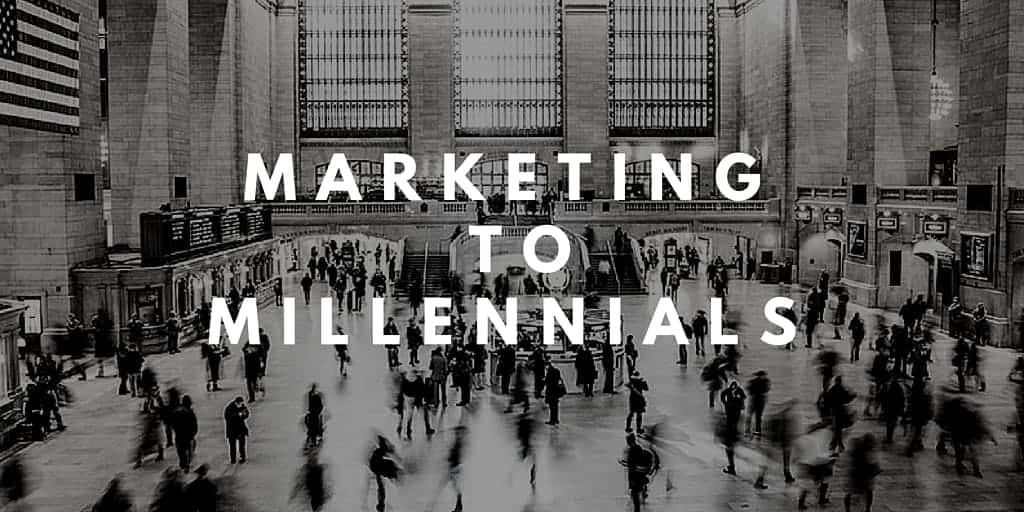 Marketing To Millennials caption