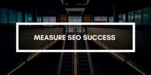 Measure SEO Success caption