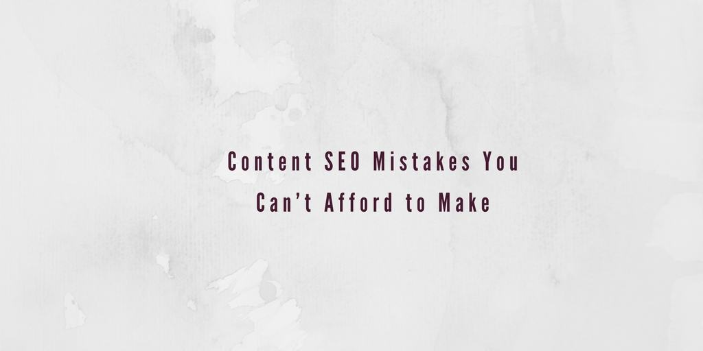 content-seo-mistakes
