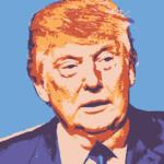 Donald Trump Portrait Royalty-Free Stock Image
