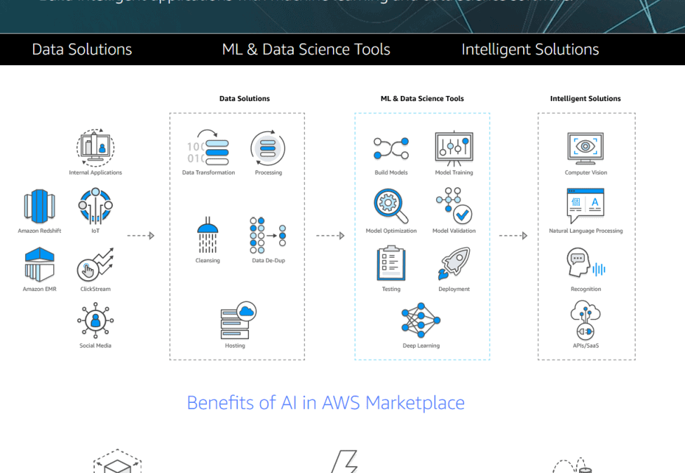 AWS Marketplace ML and AI page