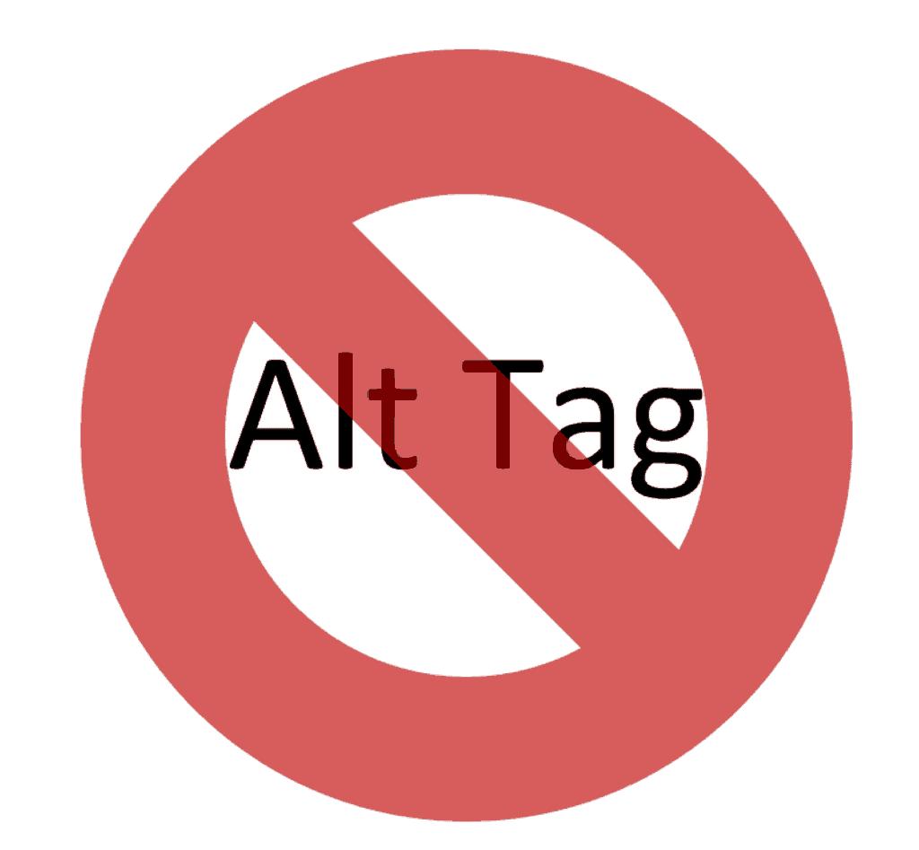 It's not an alt tag
