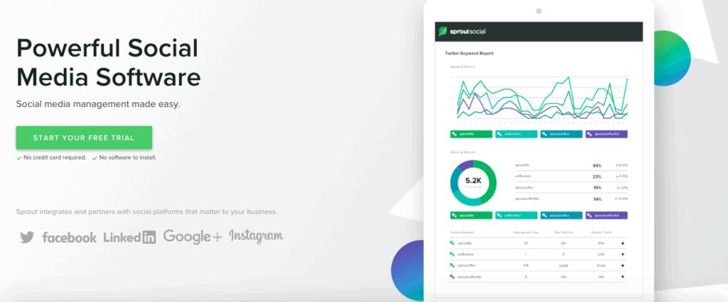 SproutSocial Screenshot