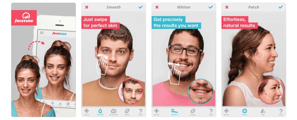 FaceTune Screenshot