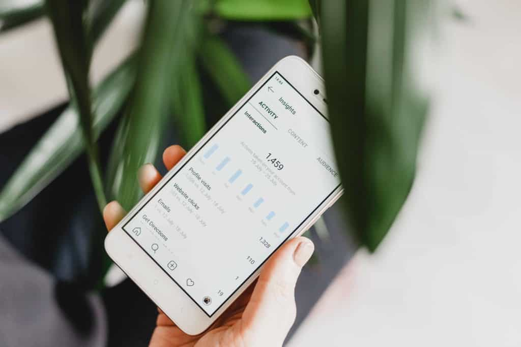 keeping track of the rankings and collect data with app store analytics