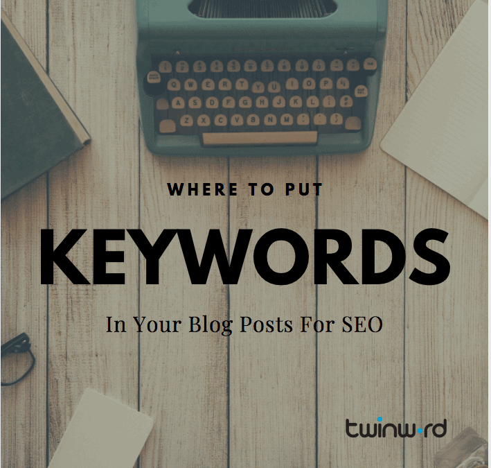 Where to put keywords in your blog for SEO featured image