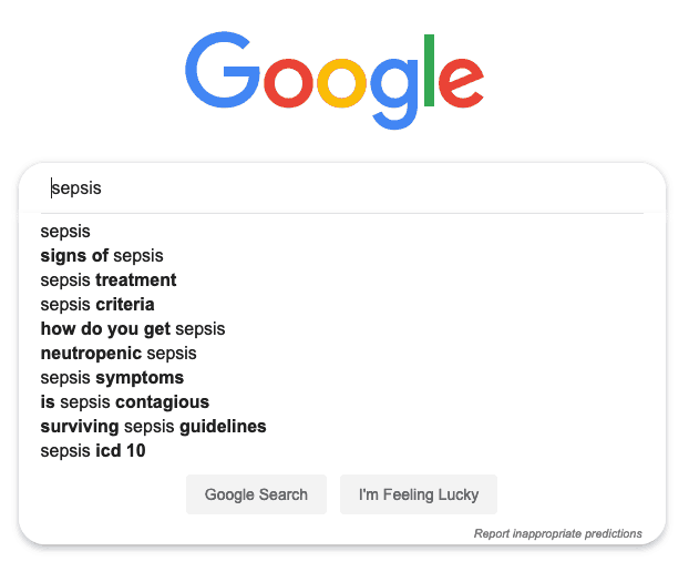 Auto suggest keywords from Google for content planning..