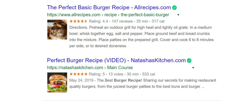 recipe snippet