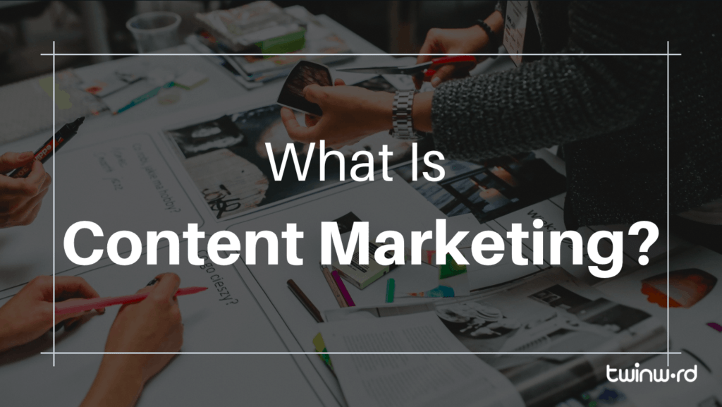 What is content marketing banner.