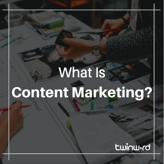 What is content marketing featured image.
