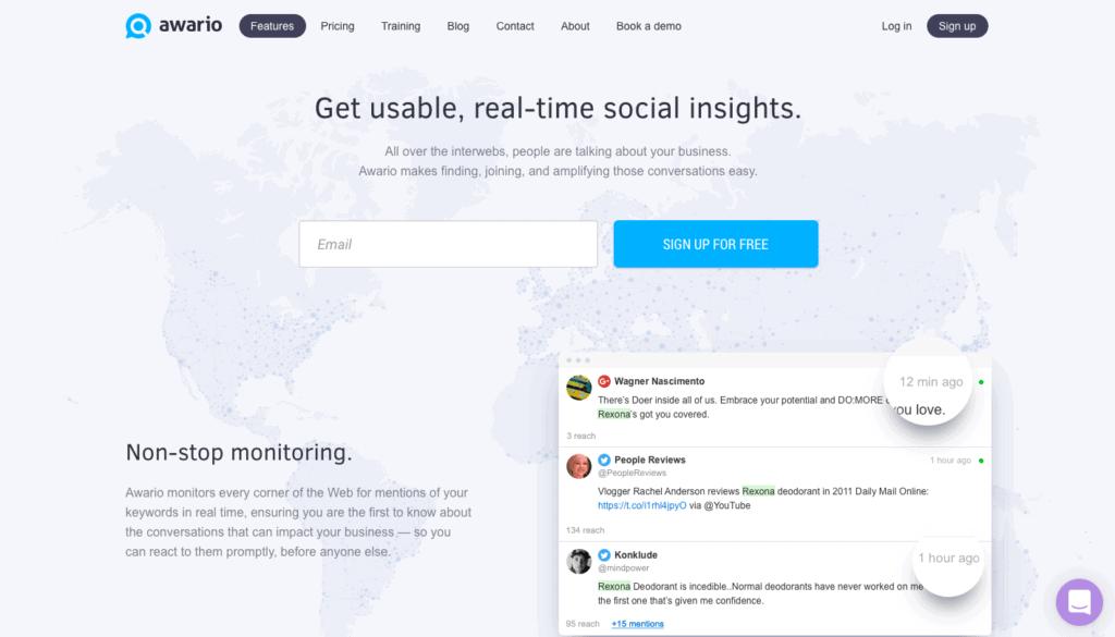 Awario Social Listening Tool