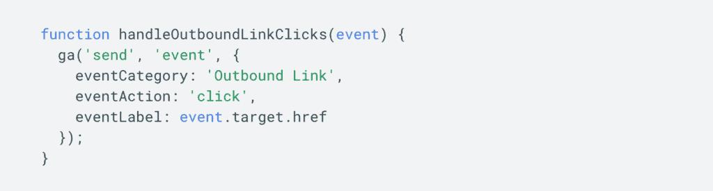Google Analytics Event Tracking Sample Code